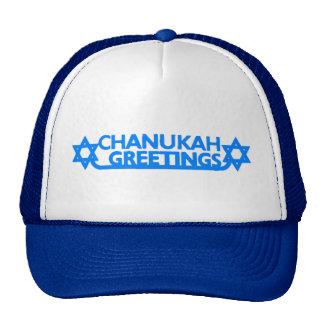 Chanukah Mesh Hat