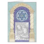 Chanukah ~ Mogen David Arch Photoframe Card