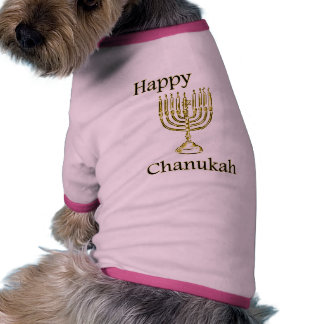 Chanukah Camisetas De Mascota