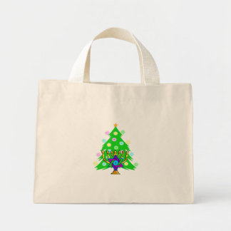 Chanukkah and Christmas Canvas Bags