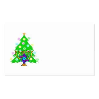 Chanukkah and Christmas Business Card