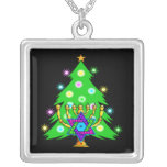 Chanukkah and Christmas Personalized Necklace