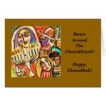 Chanukkah feliz: Festival de luces judío Tarjeta