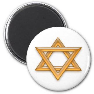 Chanukkah feliz imán redondo 5 cm