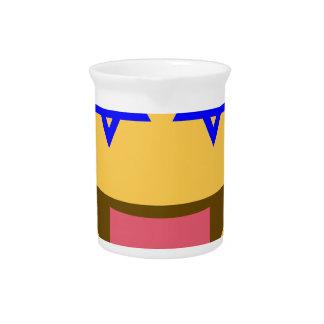 chanukkah hanukkah emoji beverage pitcher