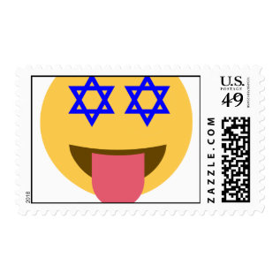 Chanukkah Hanukkah Emoji Postage at Zazzle
