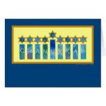 Chanukkah Lights Greeting Card