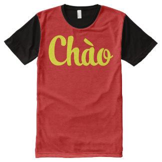 Chào / Hello ~ Vietnam / Vietnamese / Tiếng Việt All-Over Print T-shirt
