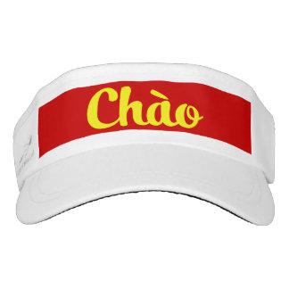 Chào / Hello ~ Vietnam / Vietnamese / Tiếng Việt Visor