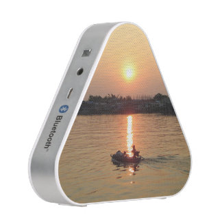 Chao Phraya River Sunset ... Ayutthaya, Thailand Bluetooth Speaker