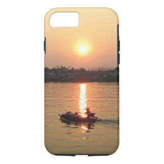 Chao Phraya River Sunset ... Ayutthaya, Thailand iPhone 8/7 Case