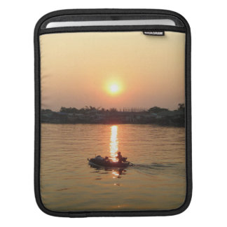 Chao Phraya River Sunset ... Ayutthaya, Thailand Sleeve For iPads