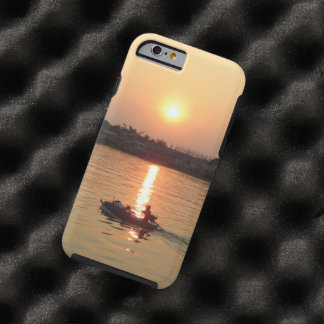 Chao Phraya River Sunset ... Ayutthaya, Thailand Tough iPhone 6 Case