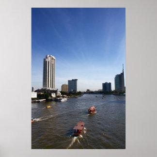 Chao Praya River - Early Morning photo print