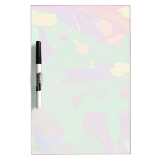 Chaos abstract pattern dry erase board