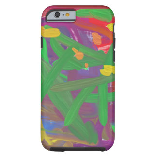 Chaos abstract pattern tough iPhone 6 case