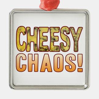 Chaos Blue Cheese Metal Ornament
