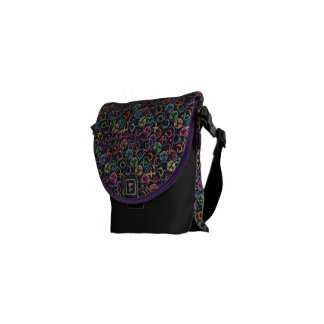 Chaos By Jane Bucci Messenger Bag Mini