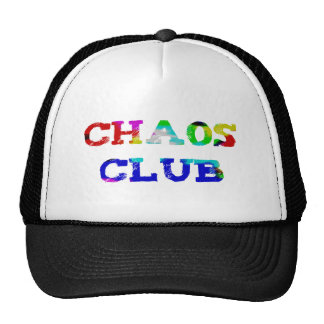 Chaos club trucker hat