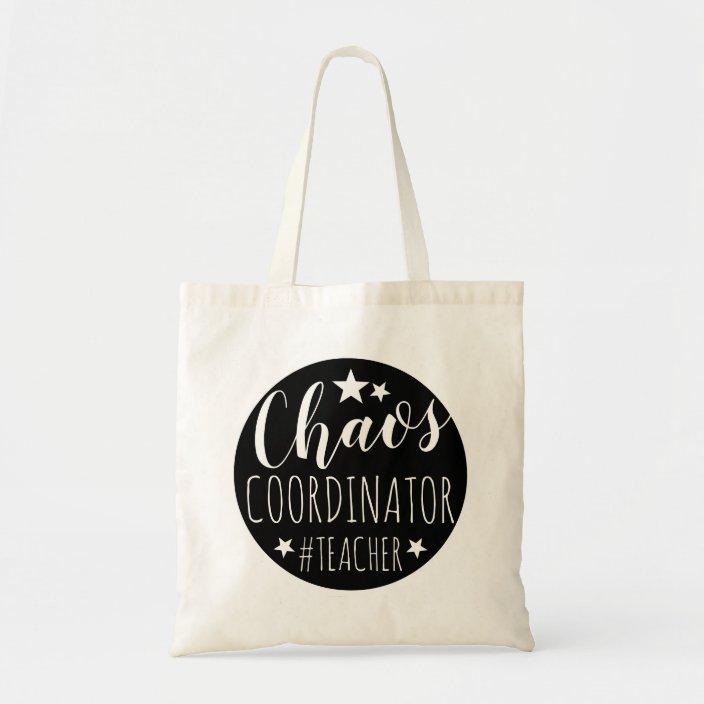 Chaos Coordinator Shopping Tote Bag