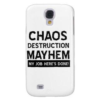 Chaos destruction mayhem samsung s4 case