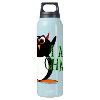 Chaos Evil Penguin Insulated Water Bottle