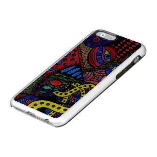 Chaos Eye - colorful doodle painting Incipio Feather Shine iPhone 6 Case