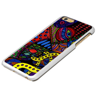 Chaos Eye - colorful doodle painting Incipio Feather Shine iPhone 6 Plus Case