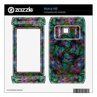 Chaos Fire Nokia N8 Skin