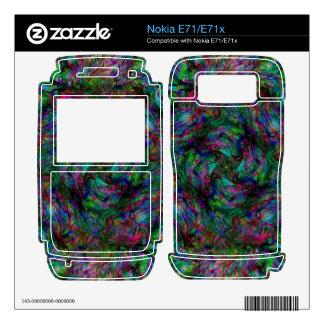 Chaos Fire Nokia E71 Decals