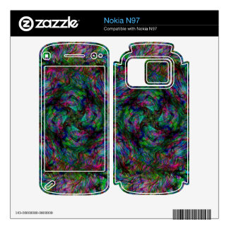 Chaos Fire Skin For Nokia N97