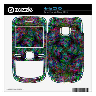 Chaos Fire Decals For Nokia C3-00