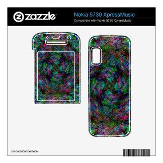 Chaos Fire Nokia 5730 Skins