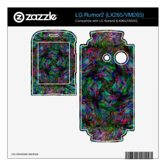 Chaos Fire Decal For The LG Rumor2