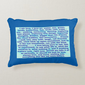 Chaos Form 1 / Philosophical Double Design Pillow