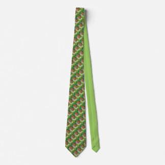 Chaos in nature neck tie