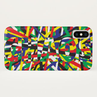 Chaos, in Primaries iPhone X Case