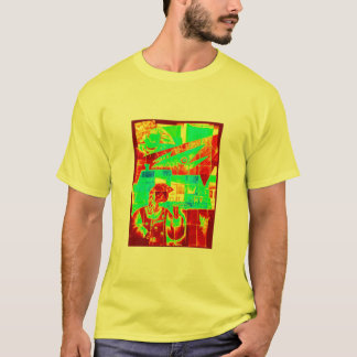 Chaos in red and green! T-Shirt