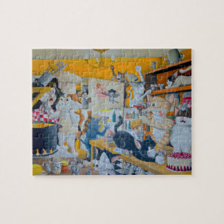 Chaos in the Kitchen Jigsaw Puzzle