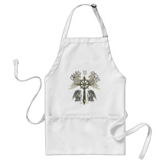 Chaos is Order Adult Apron