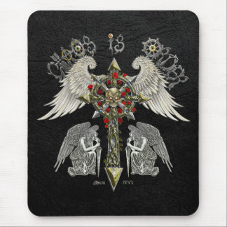 Chaos is Order the balance Mouse Pad