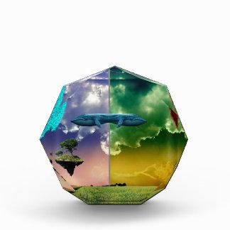 Chaos Planet Acrylic Award