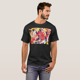 Chaos Powerful Expression Brush Artistic T-Shirt