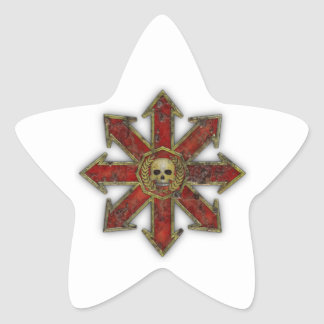 Chaos – Red Star Sticker