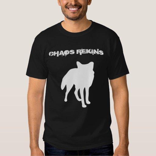 Chaos Reigns Antichrist T-shirt