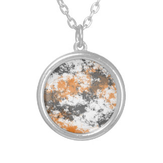 Chaos Silver Plated Necklace
