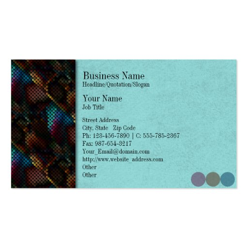Chaos Spots pany Business Card