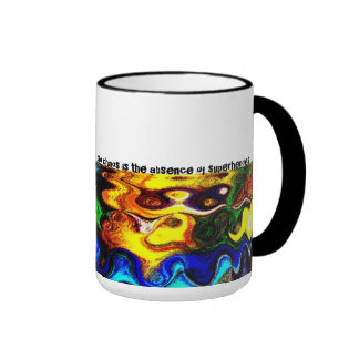 Chaos & Superheroes Ringer Mug