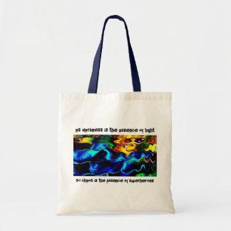 Chaos & Superheroes Tote Bag