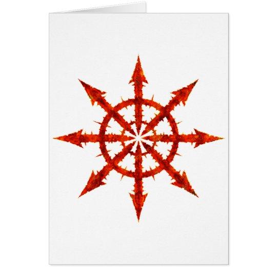 Chaos Symbol Card